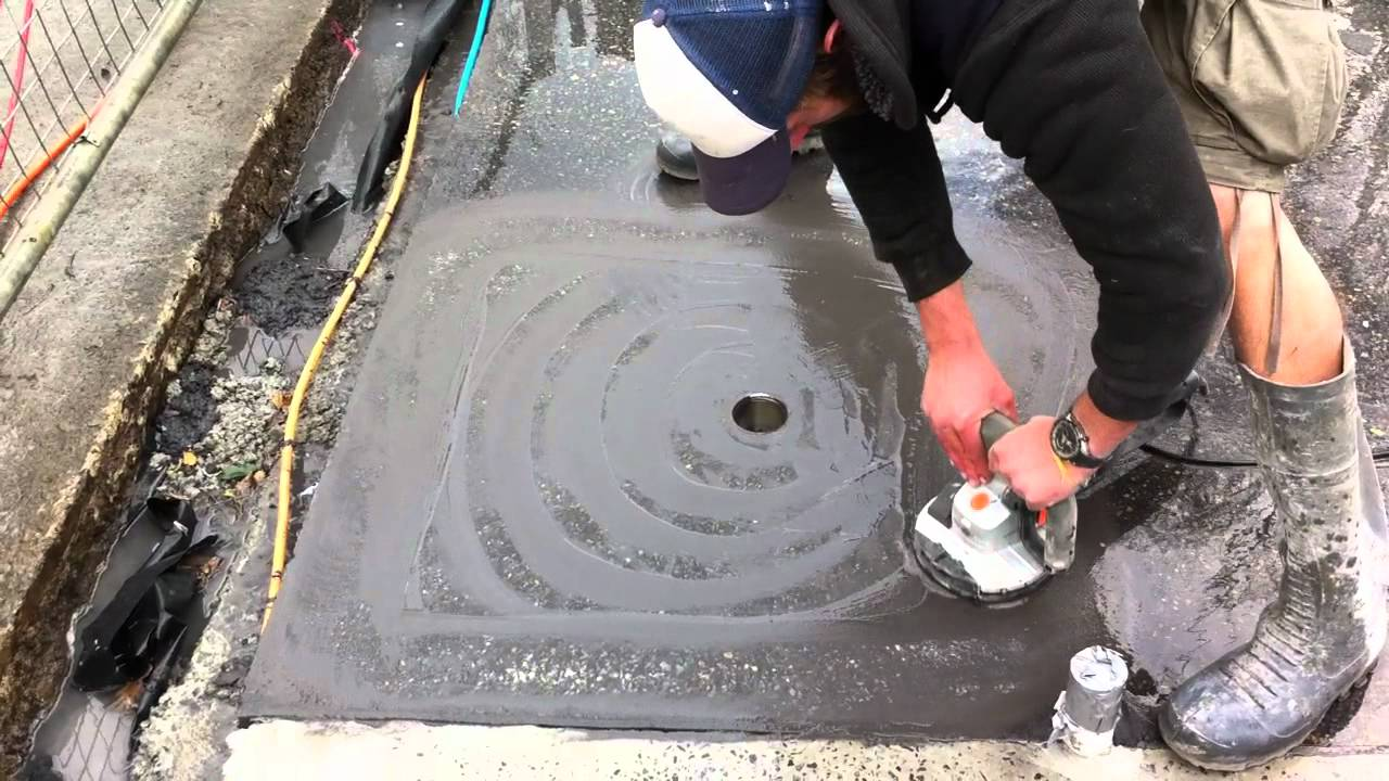 How to grind a shower base youtube for Fall in shower floor