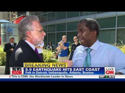 Earthquake! Cable News Style