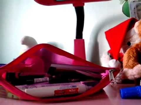 What's in my pencil case(super late upload:D)