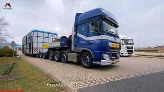 Exceptioneel transport van Rotterdam naar Alblasserdam   Moovle
