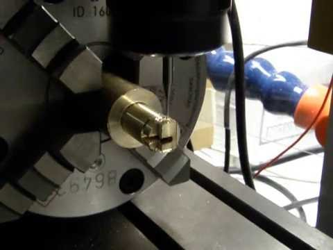 Proxxon FF500 CNC 4 axis miniature part milling