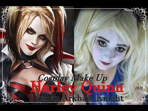 Harley Quinn -Batman Arkham Knight- COSPLAY MAKE UP