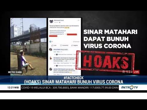 Cek Fakta Benarkah Berjemur di Bawah Sinar Matahari Bisa Membunuh Virus Corona