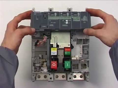 VIDEOMANUAL SACE Tmax T7 replacement of trip unit PR231 with PR232 trip unit