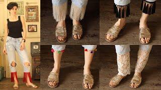 DIY || Tassel Bottom Jeans || Interchangeable 6 Ways
