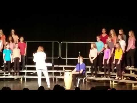 White Lake Middle School 8th grade choir