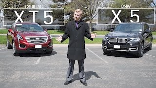 Cadillac XT5 vs BMW X5 | Model Comparison | Driving Review