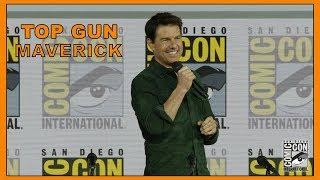 TOM CRUISE intros TOP GUN 2 at COMIC-CON - Hollywood TV