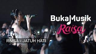 Raisa - Jatuh Hati (with Lyrics) | BukaMusik