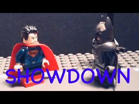 The Dark Knight Returns: Lego BVS scene
