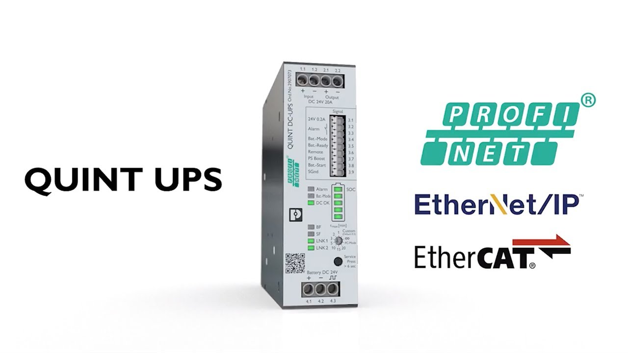 Phoenix Contact QUINT 4 UPS in Action — Allied Electronics & Automation