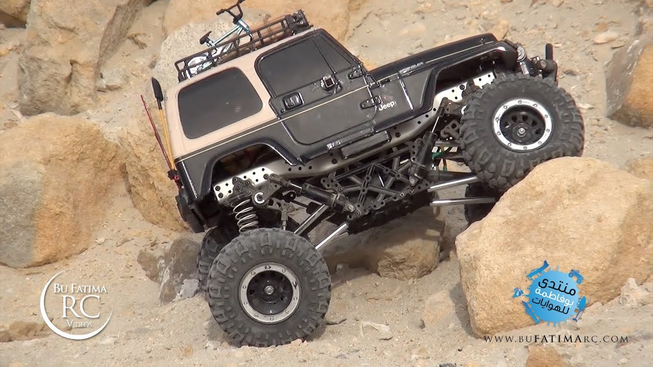 Jeep Rock Crawler >> Rc Rock Crawling Jeep Wrangler Twin Hammer Gmade R1 Sharjah Version