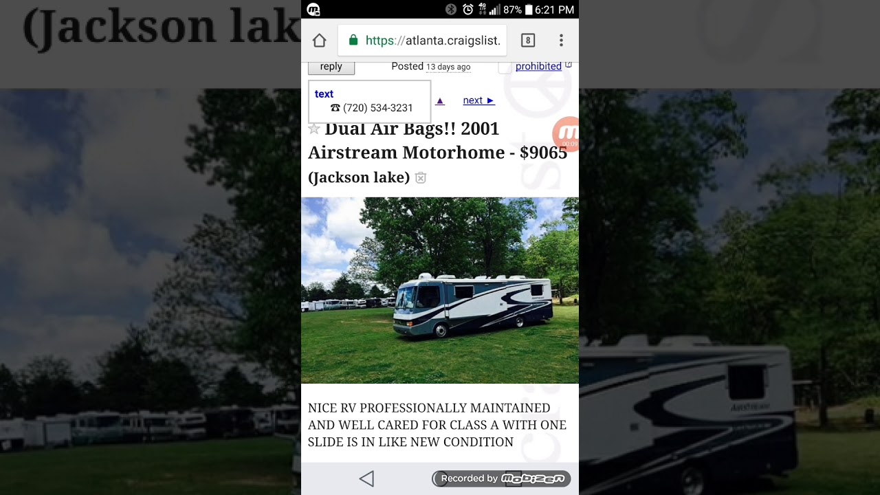 Rv Scams On Craigslist Beware Youtube