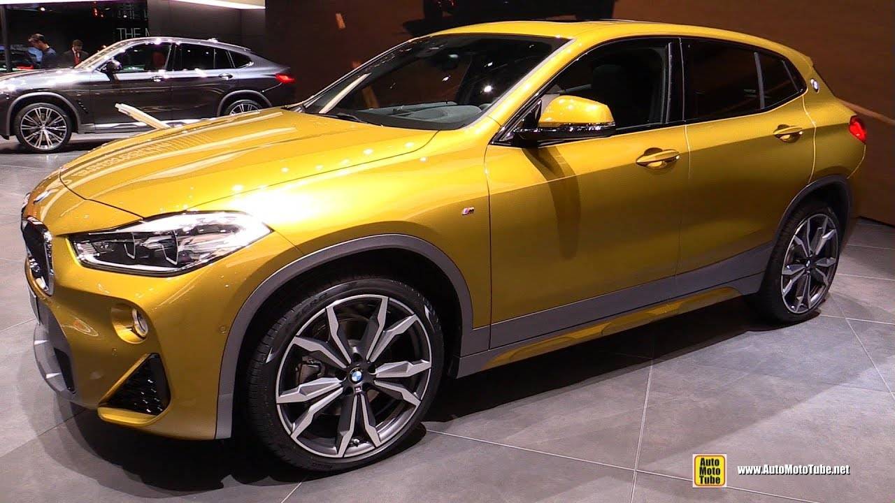 2018 bmw x2 20d xdrive m sport exterior and interior walkaround 2018 geneva motor show youtube. Black Bedroom Furniture Sets. Home Design Ideas