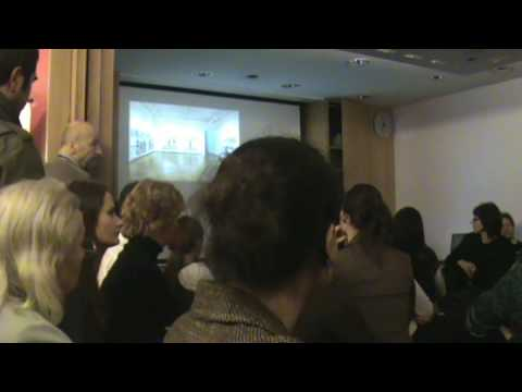Czech artist David Cerny discusses Entropa at British Council Brussels - part 1 of 2