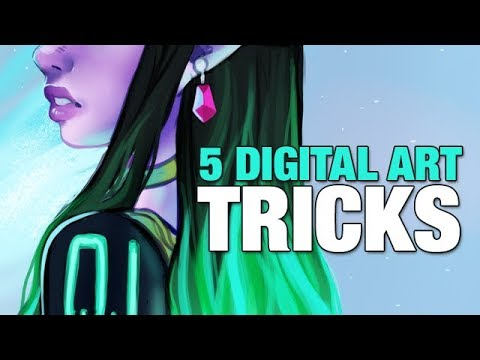 Sharing 5 of my most used features and tricks【 Digital Art Tips and Tricks 】