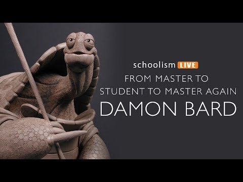 Sculptor, Damon Bard - From Master to Student to Master Again