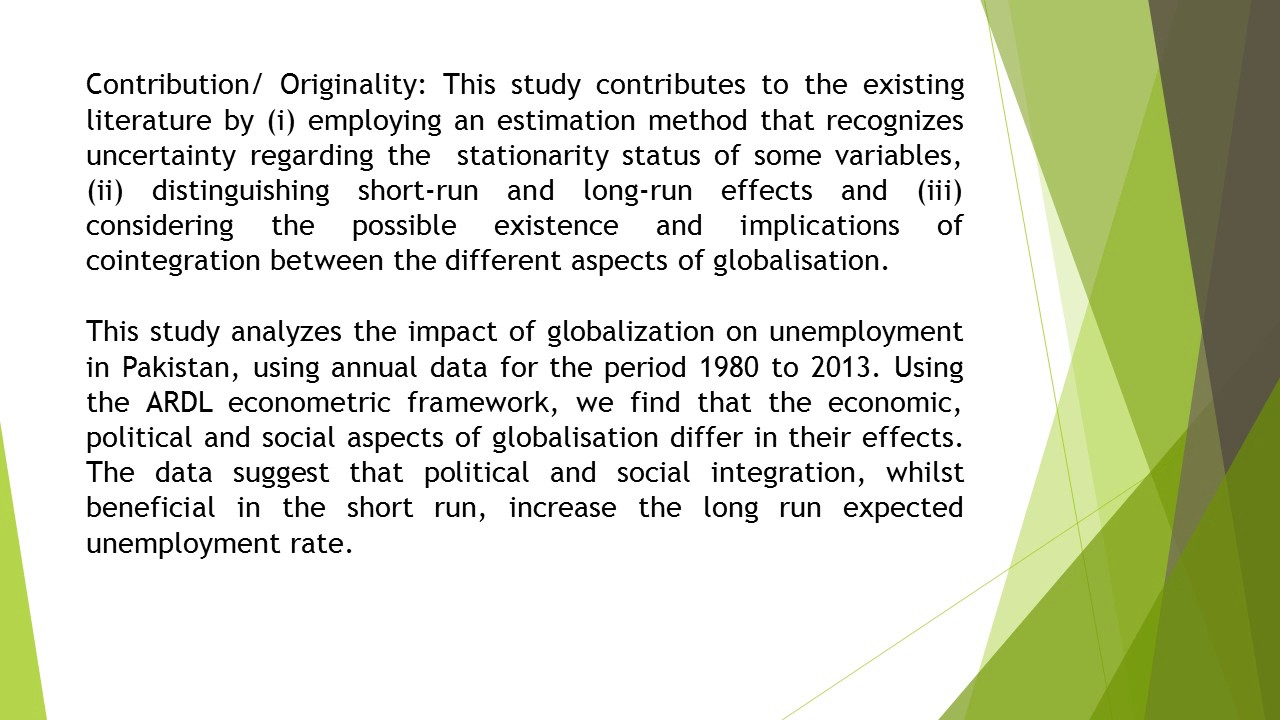 different aspects of globalization