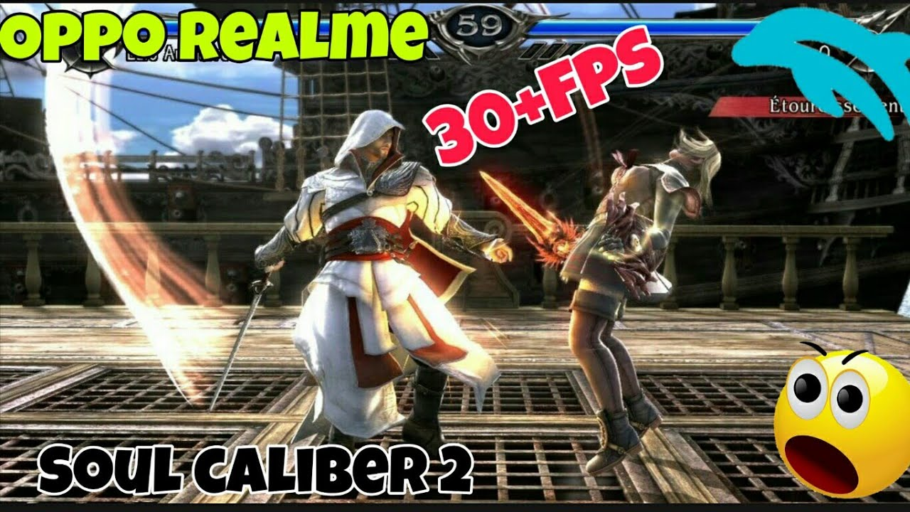 Soul Caliber : 2 || Dolphin emulator Android || Oppo realme || Console  games in Android device