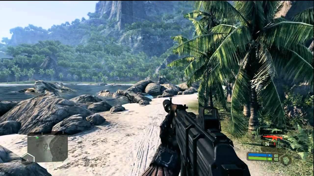 Crysis 1 - Xbox 360 Gameplay Part 2 - Walkthrough Deutsch HD - YouTube