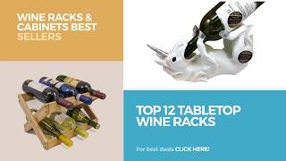 Top 12 Tabletop Wine Racks // Wine Racks & Cabinets Best Sellers