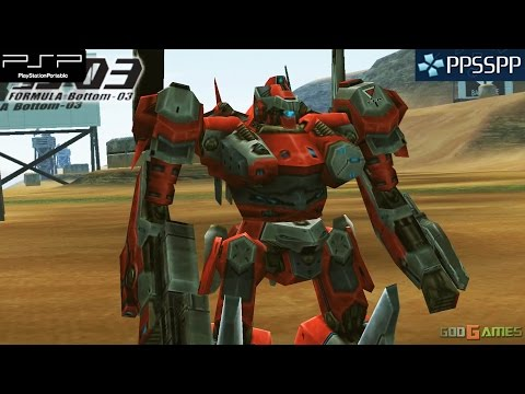 Armored Core Formula Front Psp Gameplay 1080p Ppsspp Youtube