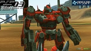 Armored Core: Formula Front - PSP Gameplay 1080p (PPSSPP)