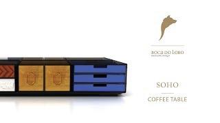 The Soho Coffe Table by Boca do Lobo