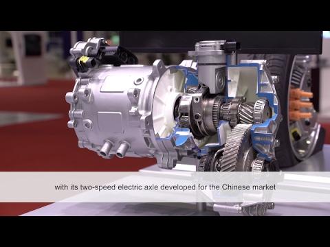 Auto Shanghai 2017 – Schaeffler's electric axle [Schaeffler]