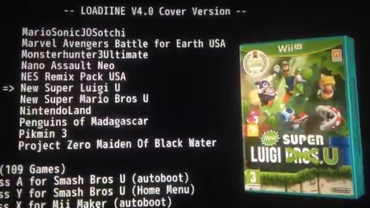WII u Loadiine Flow cover