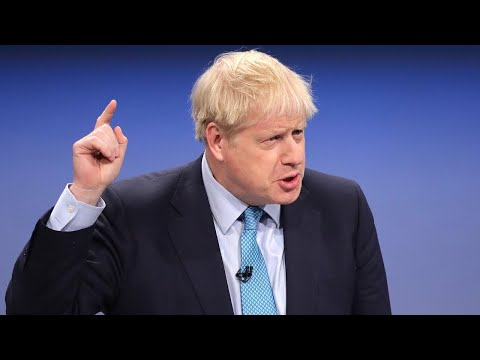Watch Boris Johnson's Conservative Party Conference speech in FULL
