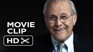The Unknown Known Movie CLIP - I Think (2013) - Errol Morris Documentary HD