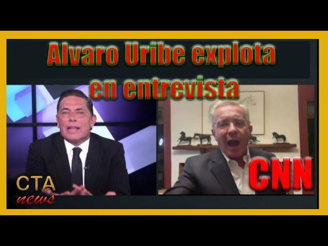 Alvaro Uribe 🇨🇴: Entrevista TENSA sobre PROTESTAS en Colombia