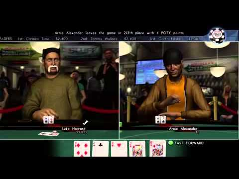 World Series Of Poker 2008 PS3, PS2, PSP, X360