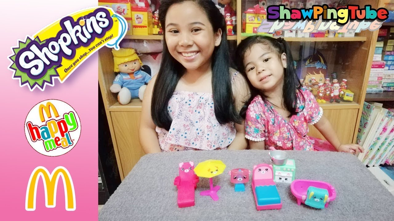 Shopkins Mcdonalds Happy Meal Toys 2019 Philippines