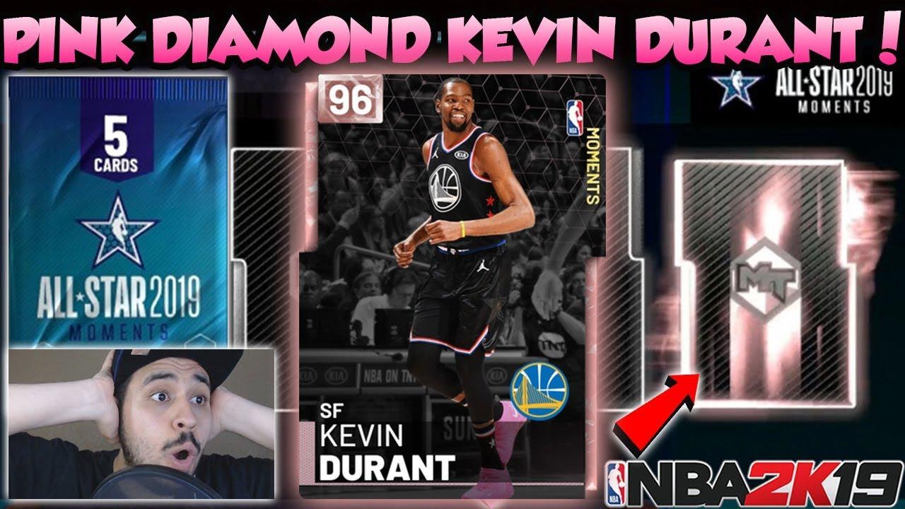 2a377e3bd777 NBA 2K19 NBA ALL STAR GAME MVP PINK DIAMOND KEVIN DURANT PACK ...