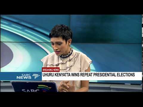 BREAKING NEWS: Uhuru Kenyatta wins repeat Kenya elections