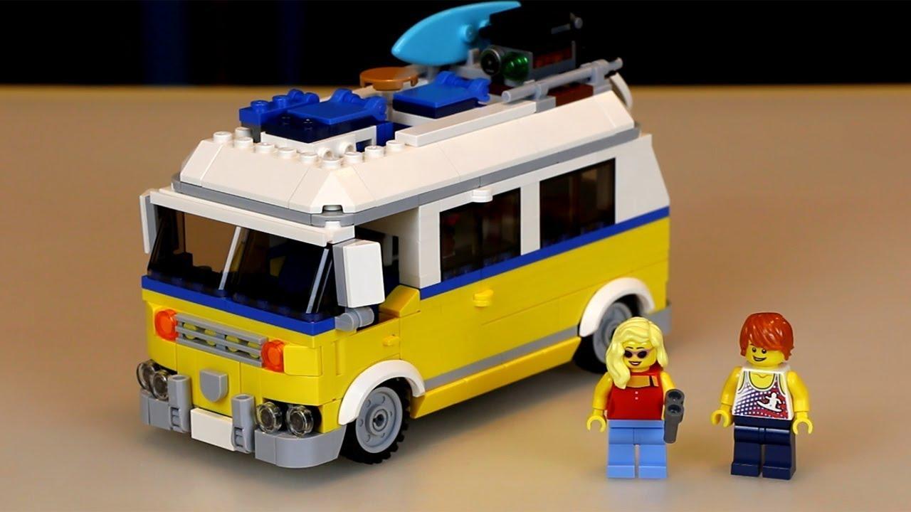 LEGO Creator Baukästen & Konstruktion LEGO Bau- & Konstruktionsspielzeug Surfermobil 31079