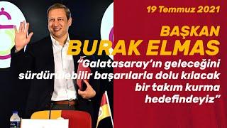 📺 Galatasaray Spor Kulübü Başkanı Burak Elmas, görevdeki ilk 1 ayını değerlendirdi