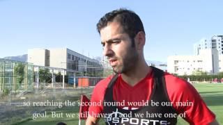 Pejman Montazeri: Reaching second round of FIFA World Cup is our main goal thumbnail