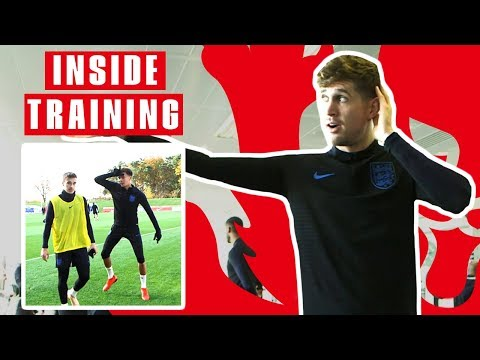 Full Day Access to England Training: DJ Stones in the Gym and Deles Game Winner | Inside Training