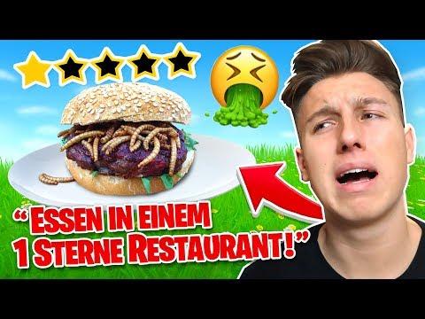 1 STERN Restaurant ESSEN! Fortnite WENN ich DU WÄRE!