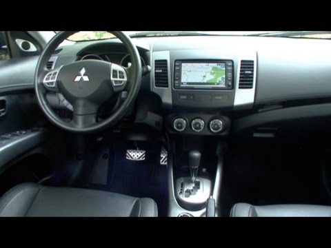 2010 mitsubishi outlander interior features