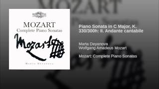 Piano Sonata in C Major, K. 330/300h: II. Andante cantabile