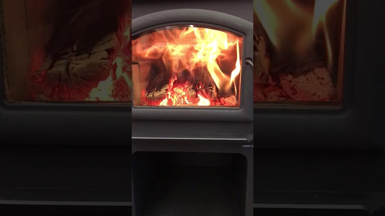 Quadra Fire Discovery Iii Wood Stove Youtube