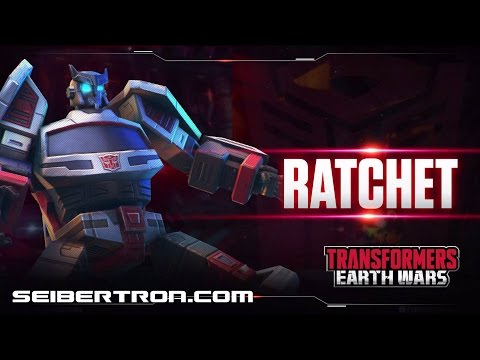 RATCHET Character Spotlight video and demo Transformers: Earth Wars