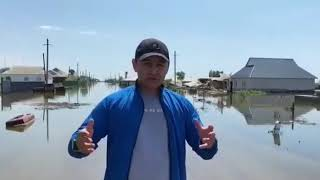 Вода обошла Мечеть в Туркестанской области