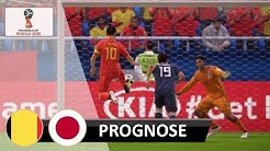 FIFA 18 Prognose | Belgien - Japan | WM 2018 (Achtelfinale)