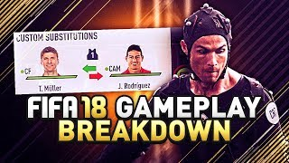 Fifa 18 gameplay breakdown! new features, celebrations, & icons!