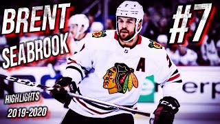 Check it out: chicago blackhawks #7 brent seabrook 19-20 highlights are here!the countdown continues to the 2020 nhl stanley cup playoffs7 more days til hock...